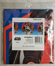 "Star Wars Episode 8 Plastic Table Cover 54"" x 96"" - $7.91"