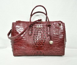 NWT Brahmin Blake Carryall XL Satchel/Shoulder Bag/Work Bag. Cranberry M... - $369.00