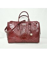NWT Brahmin Blake Carryall XL Satchel/Shoulder Bag/Work Bag. Cranberry M... - $369.00