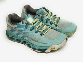Merrell All Out Peak Vibram Womens Size 7 Hiking Trail Running Shoe J03952 Blue - $37.95