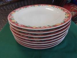 Beautiful pfaltzgraff ATMOSPHERE Grandma's Kitchen- Set of 8 DINNER Plates - $84.73