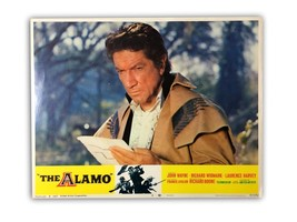 """THE ALAMO"" ORIGINAL 11X14 AUTHENTIC LOBBY CARD POSTER 1967 WAYNE - $89.96"