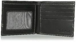 Timberland Men's Leather Slimfold Wallet Key Fob Gift Set Black NP0366/08 image 5