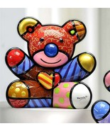 Romero Britto Love Bear Design Figurine Rare Collectible  - $128.69