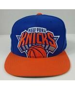New York Knicks Mitchell & Ness NBA Cropped Logo Snapback Cap Excellent - $18.78