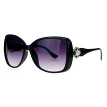 Vintage Jewel Design Sunglasses Womens Oversized Square Fashion Shades - $9.95