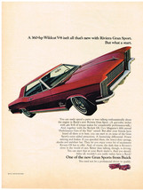 Vintage 1965 Magazine Ad Buick Riviera Gran Sport Extras Let You Enjoy T... - $5.93