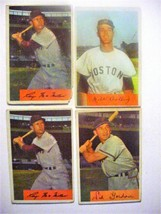 (4) 1954 Bowman Baseball cards-poor to vg-#11-12(2)-130 - $7.50