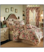 Croscill Floral Garden Damask Stripe 2-PC Square and Tasseled Pillows - $46.00