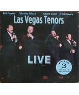 Las Vegas Tenor Live: Bill Fayne, Bobby Black, Mark Giovi, Ted Davey Aut... - $14.95