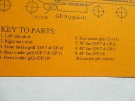 Gold Medal Models # 160-40 Life-Like Detail Set GP-18 GP-18 to GP-7 0r-9 (N) image 3