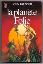 Bedlam Planet (La Planete Folie) John Brunner French Book Boris Vallejo ... - $6.50