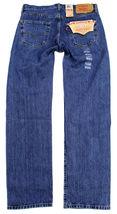 Levi's 501 Men's Original Fit Straight Leg Jeans Button Fly 501-0193 image 4