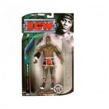 Elijah Burke 2009 ECW Series 4 Wrestling Action Figure Microphone NIB WWE JAKKS - $29.69