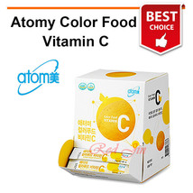 Atomy Natural Color Food Energy Vitamin C 500mg 2g x 90 packets (180g) S... - $28.04