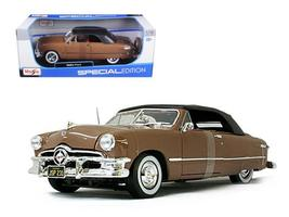 1950 Ford Convertible Soft Top 1:18 Diecast Model Car by Maisto - $55.46