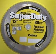 """Oldham 120C480 Super Duty 12"""" x 80 Carbide Saw Blade - $25.74"""
