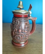 Vintage Avon Tribute to the American Firefighters Beer Stein 1989  - $19.75