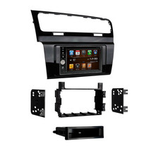 DVD GPS Navigation Multimedia Radio and Dash Kit for Volkswagen Golf 2015 - $296.88