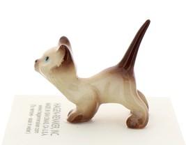 Hagen-Renaker Miniature Cat Figurine Siamese Kitten Curious Chocolate Point image 3