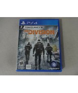 Tom Clancy's The Division Sony Playstation 4 PS4 Video Game Disc & Box F... - $16.82