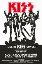 KISS Band Aug 13,1976 Houston Summit Concert Stand-Up Display - Classic ... - $15.99