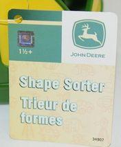 John Deere TBEK34907 Yellow Green Shape Sorter Ages 18 Months image 5