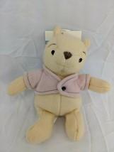 "Disney Classic Winnie the Pooh Fleece Plush 7"" Stuffed Animal Toy - $16.95"