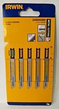 Irwin 10504289 Jigsaw Blades 24 TPI Metal Cutting U118A 5 Blades - $2.97
