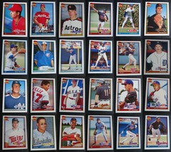 1991 Topps Traded Baseball Cards Complete Your Set Pick From List 1T-132T - $0.99+