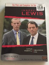 Inspector Lewis: Pilot and Series 1 NEW DVD 4 Discs John Thaw Laurence Fox - $17.77