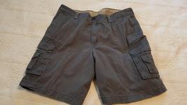 Izod Saltwater Gray Cargo Shorts Size 40 - $8.99