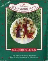 1987 - New in Box - Hallmark Christmas Keepsake Ornament - Collector's Plate - $2.96