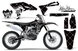 Dirt Bike Graphics Kit Decal Sticker Wrap For Yamaha YZ250F 2010-2013 RE... - $168.25