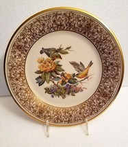 Lenox Boehm Bird Plate 1971 Goldfinch Annual Limited Edition - $32.66