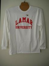 Campus Merchandise NCAA Lamar Cardinals Long Sleeve Tee Sz XL Tall White NWT - $14.85