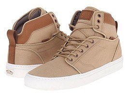 Vans Alomar (T&L) Khaki/White Hi Skate Shoes Men's 6.5 Women's 8 - $43.90
