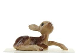 Hagen Renaker Miniature Deer Baby Fawn Lying Ceramic Figurine