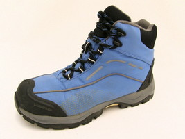 Lands' End Women's 6½M Hiking Boots High Ankle Blue Nylon Well Padded Ex... - $37.37