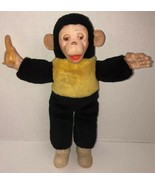 "Vintage 15"" MR BIM MONKEY ZIPPY ZIM MCM Stuffed Plush Monkey Banana Rubb... - $234.95"