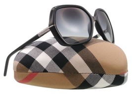 Authentic burberry sunglasess with silver Trim and Black B4107 3001/8G - $150.00
