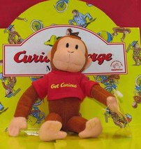 12 Pcs FULL RETAIL DISPLAY BOX Applause CLASSIC CURIOUS GEORGE Plush Mon... - $99.99