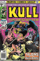Kull The Destroyer Comic Book #22 Marvel Comics 1975 FINE - $3.99