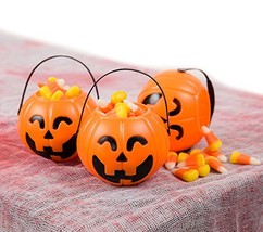 Pumpkin Mini Buckets 24 Pack - Halloween Trick or Treat Bags for Party F... - £16.92 GBP