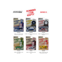 Running on Empty Series 5, 6pc Set 1/64 Diecast Model Cars by Greenlight 41050SE - $46.47
