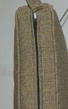 Hanamint CAC7531 3201C Pampas Linen Outdoor Bench Cushion image 4