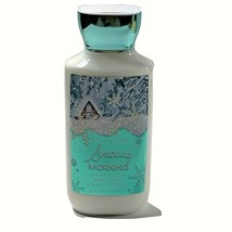 Bath and Body Works Snowy Morning 24 Hour Moisture Body Lotion 8 oz Shea... - $7.91