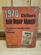 1970 Chiltons Auto Repair Manual American Cars 1963-70 + Volkswagen REST... - $9.11