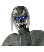 Life Size Creepy ANIMATED TWITCHING GHOUL ZOMBIE Haunted House Prop Deco... - $189.99