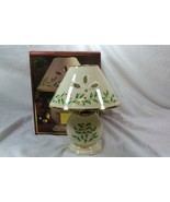 Lenox Holiday 2 Piece Candle Lamp In Box EUC - $18.89